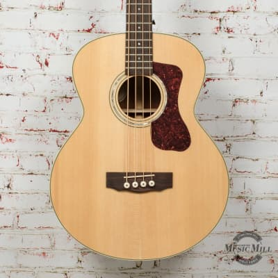 Guild B-140E, Concert Acoustic Bass Guitar - Natural x0952 (USED) for sale