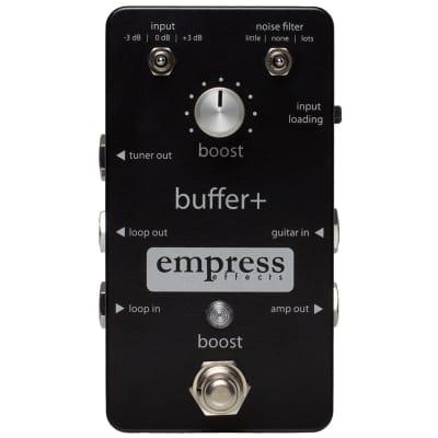 Empress Buffer+  Buffer & Boost Pedal
