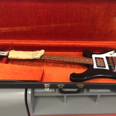 Rickenbacker 4000 1972 Black - (Almost) Never Played - Like New Condition for sale
