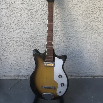 Vintage Teisco BS 101  Bsaa Guitar Short Scale for sale