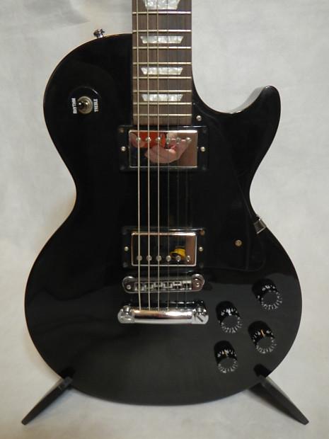 Gibson Les Paul Studio Black : 2005 gibson les paul studio ebony black 490r 498t reverb ~ Hamham.info Haus und Dekorationen