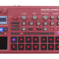 Korg Electribe 2 Sampler Music Production Station - Red