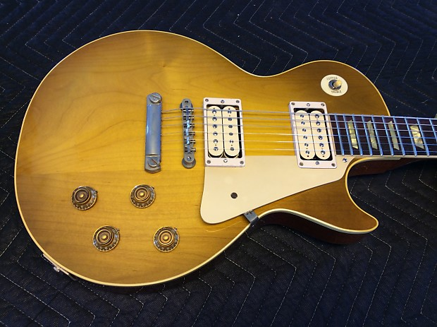 1952 Gibson Les Paul Goldtop Conversion 52 59 Burst  c3fccc6df