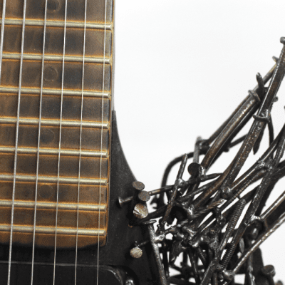 Guitar Made of Nails - Tetanuscaster - One of a Kind Art Guitar