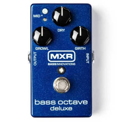 MXR M288 Bass Octave Deluxe Bass Guitar Effects Pedal for sale