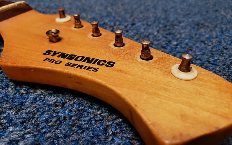as is synsonics pro series electric guitar neck reverb. Black Bedroom Furniture Sets. Home Design Ideas