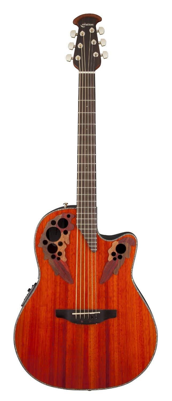 ovation celebrity elite acoustic electric guitar padauk reverb. Black Bedroom Furniture Sets. Home Design Ideas