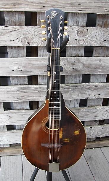 Gibson mandolin dating