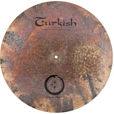 "Turkish Cymbals Jarrod Cagwin Soundscape Series 20"" Atacama Precision Flat Ride"