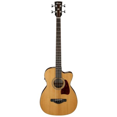 Ibanez AVCB9CENT Spruce / Sapele 4-String Acoustic Bass