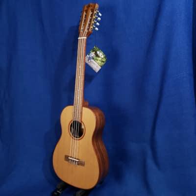 Mims Ukes: Kala 8 String Baritone KA-ABP8-CTG Solid Cedar Top /Acacia Gloss Setup Ukulele Uke .704