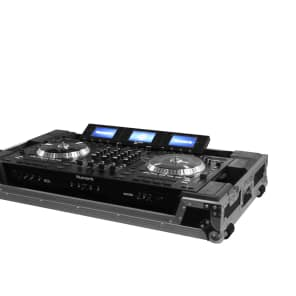 Odyssey FZPIDDJRZW Flight Zone Case for Pioneer DDJ-RZ/SZ/SZ-N and Numark NS7 Series