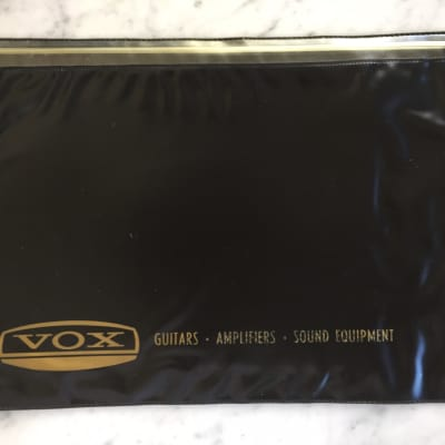 1960's Vox Guitars Amplifiers Sound Equipment Plastic Sleeve Case Candy Collector