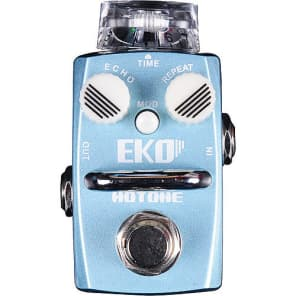 Hotone EKO (Analog Circuit Delay) Guitar Effects Pedal for sale