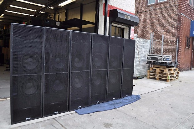 EAW TD 415 Two-Way Bass System (2 x 12 Vented) (2 x 15 Sealed) *ONE*