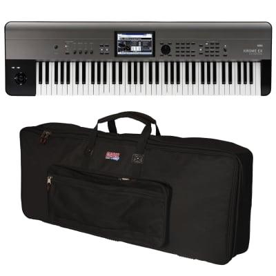 Korg Krome EX 73 Music Workstation - Carry Bag Kit