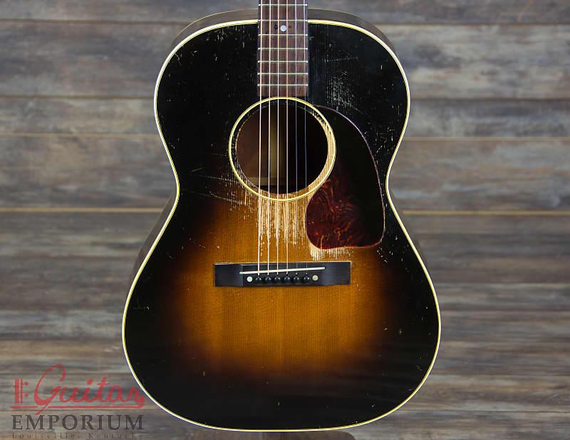 4589321af70 Gibson LG-2 1953 Sunburst small body LG2 vintage acoustic | Reverb