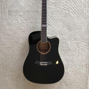 Tagima Kansas Dreadnought Acoustic-Electric Cutaway Guitar for sale