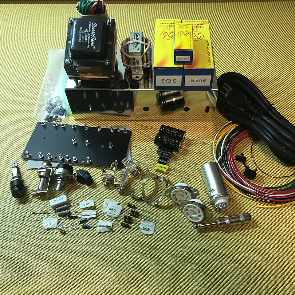 FranklynAmps 5F1 Champ chassis kit
