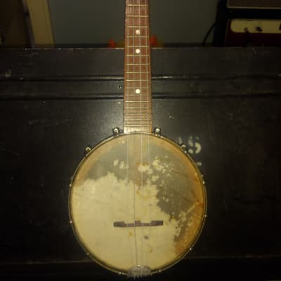 Slingerland May Bell Banjo Uke 1920s Blonde for sale
