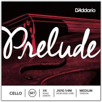 D'Addario Prelude Cello String Set - 1/4