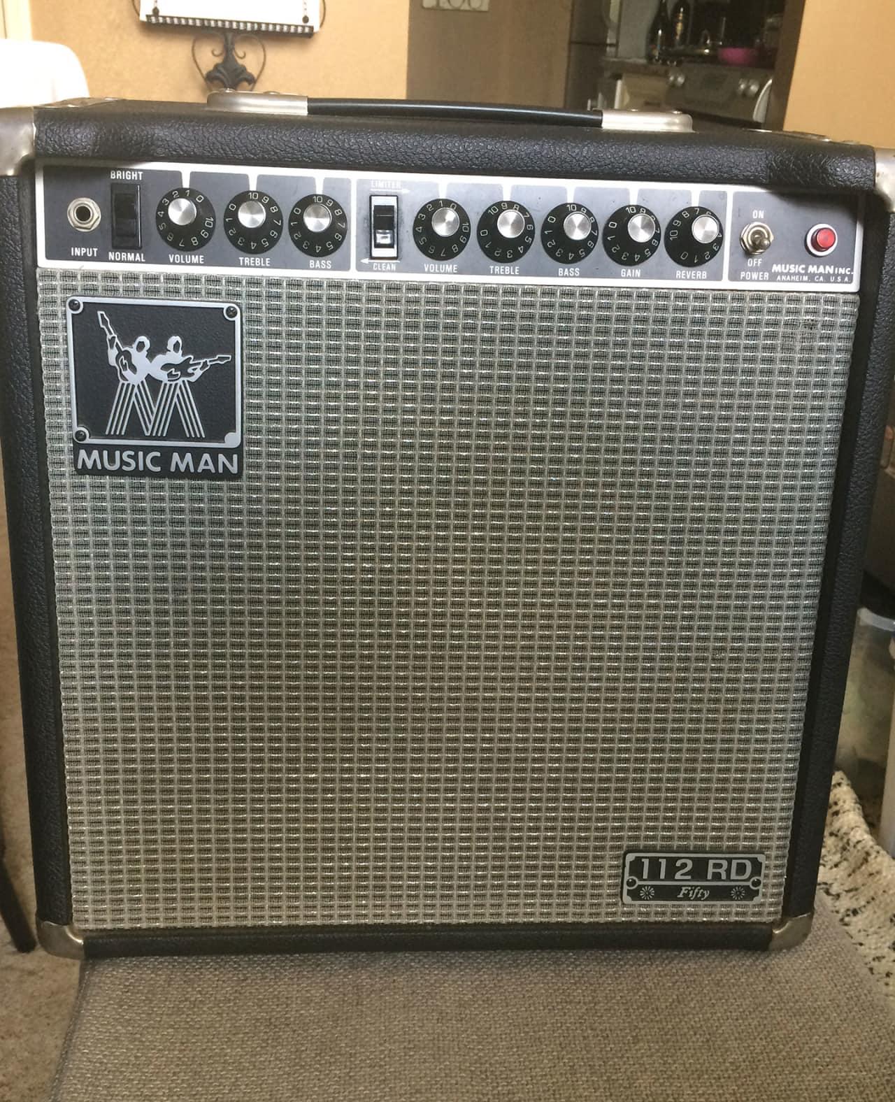 Music Man 112-RD-50 Amplifier 1982 Black | Reverb