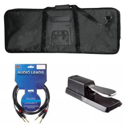 Guardian CK-400-61 61 keys Keyboard Bag + Musedo Sustain Pedal + KLO-KMPP KLOTZ KeyMaster 10 feKeybo