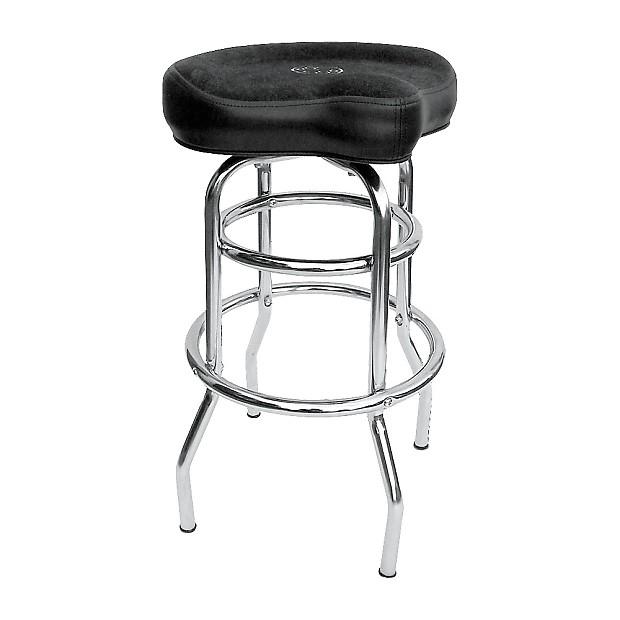 roc n soc tower saddle seat stool regular black tall reverb. Black Bedroom Furniture Sets. Home Design Ideas