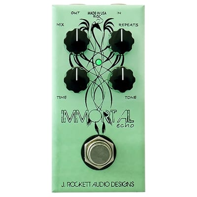 J. Rockett Audio Designs Jet Series Immortal Echo Guitar Effects Pedal, Limited Run Anniversary Coll for sale
