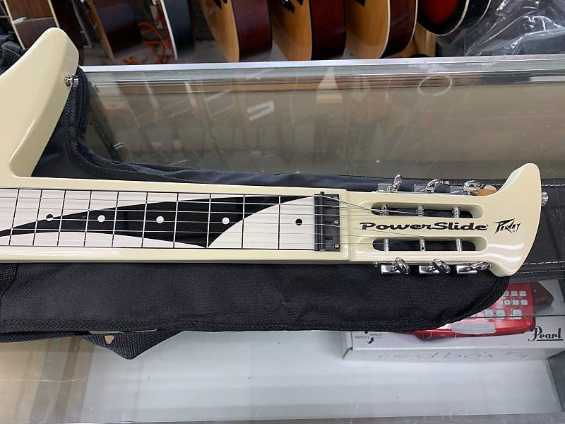 peavey power slide lap steel guitar 2010s white reverb. Black Bedroom Furniture Sets. Home Design Ideas