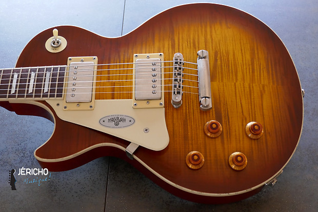 maybach lester '59 left handed midnight sunset aged | reverb