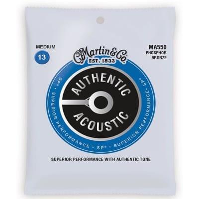 Martin SP Phosphor Bronze Acoustic Strings MA550 - 13-56