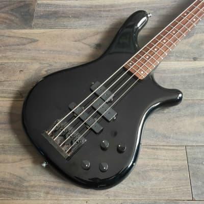 1989 Rockoon (by Kawai/Schaller) KRB-69A Active PJ Bass (Black) for sale