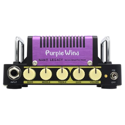 Hotone Nano Legacy Purple Wind Mini Amplifier Inspired by the Marshall Plexi for sale