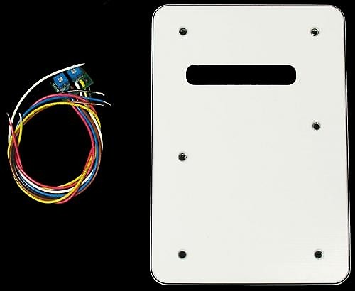 Suhr Backplate Silent Single Coil System White Reverb