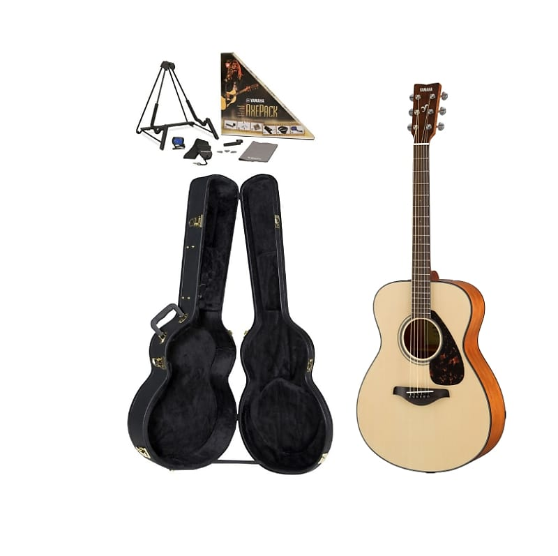 yamaha fs800 acoustic guitar pack case and accessories reverb. Black Bedroom Furniture Sets. Home Design Ideas