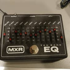 MXR M108 10 Band EQ Pedal With Power Supply