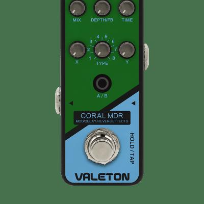Valeton Coral MDR modulation/delay/reverb/