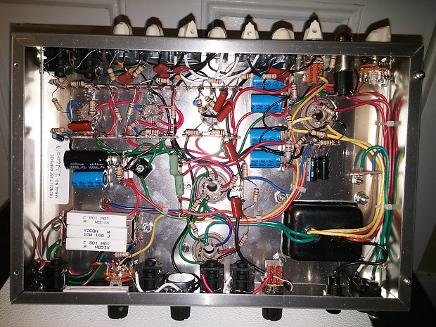 Frenzel FM-5E3DP Hand Wired P2P With Cage Upgrade and FX Loop