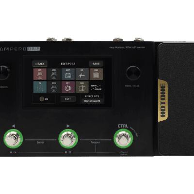 Hotone Ampero ONE MP-80 Amp Modeler/ Effects Processor.