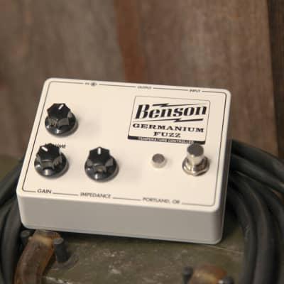 Benson Amps Germanium Fuzz  2021 Solar White