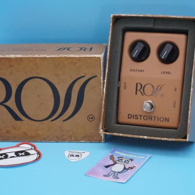 Ross Distortion Pedal w/Original Box | Rare 1970s (Made in USA) | Fast Shipping!