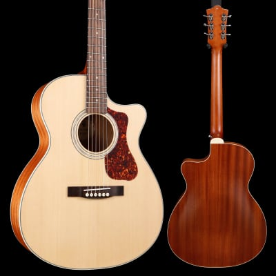 Guild Westerly Collection OM-240CE Natural S/N G21809701 4lbs 1.3oz - Blemished for sale