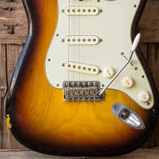 Mario Guitars S Brazilian Rosewood over AAA Flamed & Roasted Maple neck! image