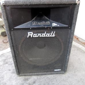 RANDALL PA Speakers model RSR115H USA / Cosmetically worn but sounding good for sale