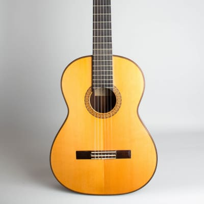 Manuel Velazquez  Classical Guitar (1981), original black hard shell case. for sale