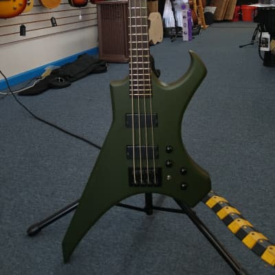 Blakhart Kronos 4 Electric bass guitar (tuned B-E-A-D) for sale