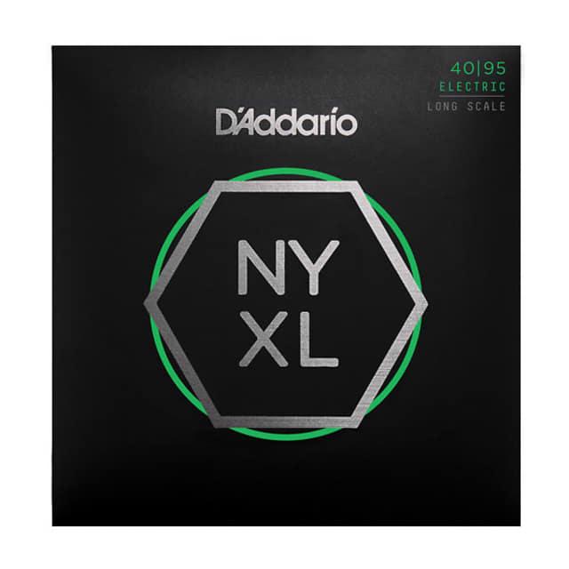 D'Addario NYXL4095 NYXL Bass Guitar Strings Long Scale 40 60 75 95 Free Shipping in the USA! image