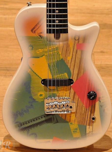 Gretsch Traveling Wilburys White 1988 Reverb