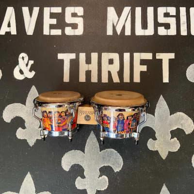 Latin Percussion Santana mini bongos-FREE shipping! Daves Music & Thrift